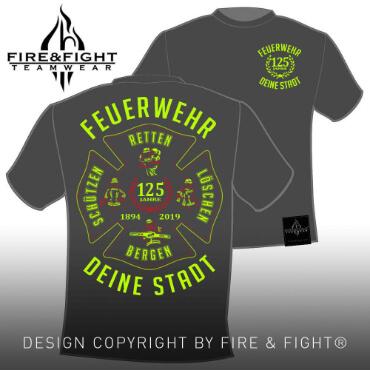 Klassik-Chart-T-Shirt-grau-FW-Leidenschaft-neongelb