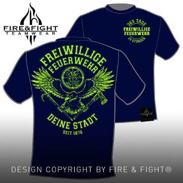 Tradition-Chart-FFW-T-Shirt-navy-neongelb