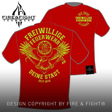 Tradition-Chart-FFW-T-Shirt-rot-neongelb