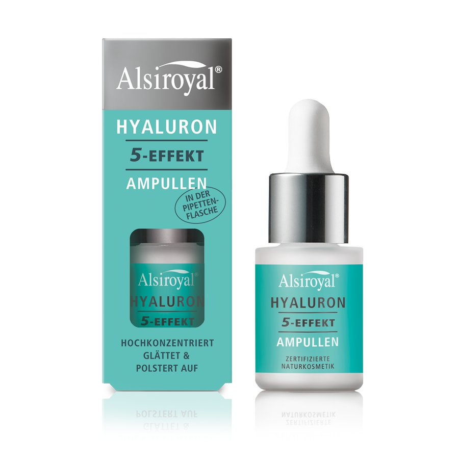 Alsiroyal - HYALURON 5-EFFEKT Ampullen Pipette, 15 ml
