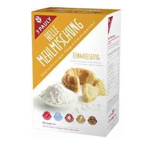 3-Pauly - Helle Mehlmischung glutenfrei 800g