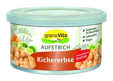 GranoVita - vegetarische Pastete Kichererbse vegan 125g