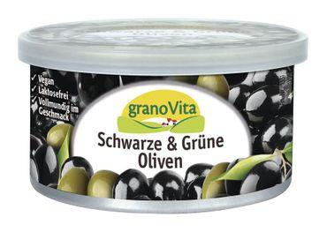 GranoVita - Schwarze Olive Sandwich Pastete glutenfrei vegan 125g