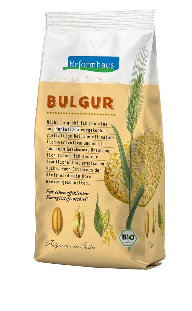 Reformhaus - Bulgur aus Hartweizen bio 500g