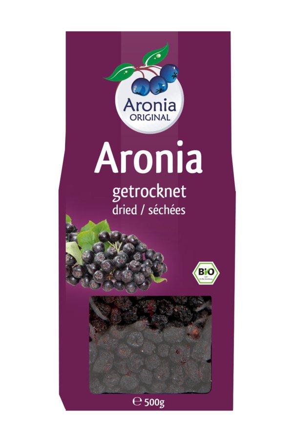 Aronia ORIGINAL - Aroniabeeren getrocknet Bio FHM, 500g
