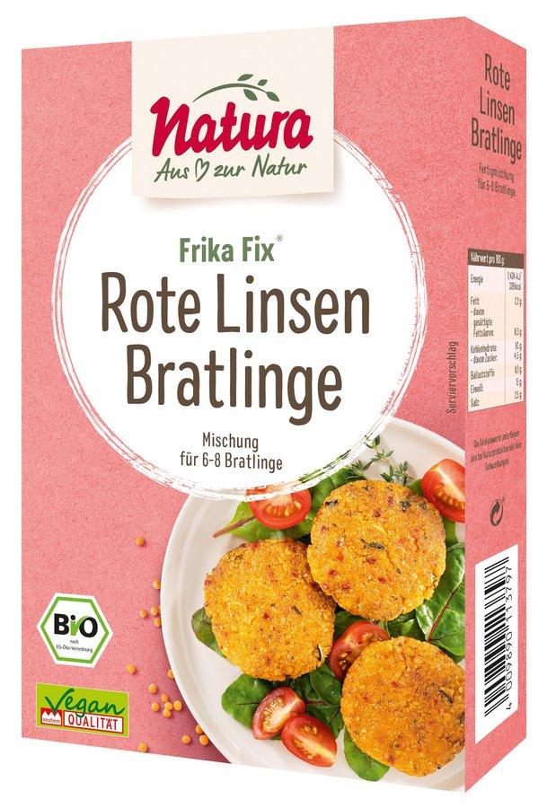 Natura - Frika Fix Rote Linsen-Bratlinge bio 150g