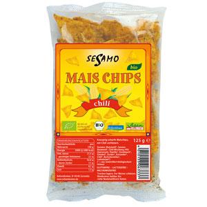 Sesamo - Maischips Chili bio 125g