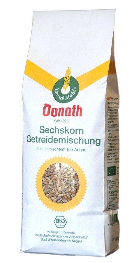 Donath-Mühle - Sechskorn Mischung bio 1000g