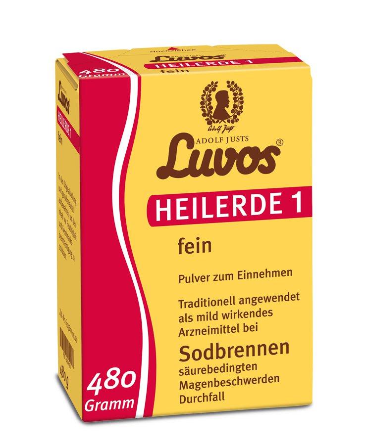 Luvos - Heilerde 1 fein 480g