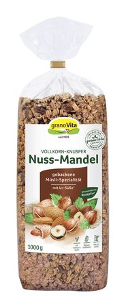 GranoVita - Nussmandel-Knusper mit Ursüße 1000g