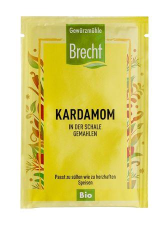Brecht - Kardamom gemahlen bio im Kleinbeutel 5g