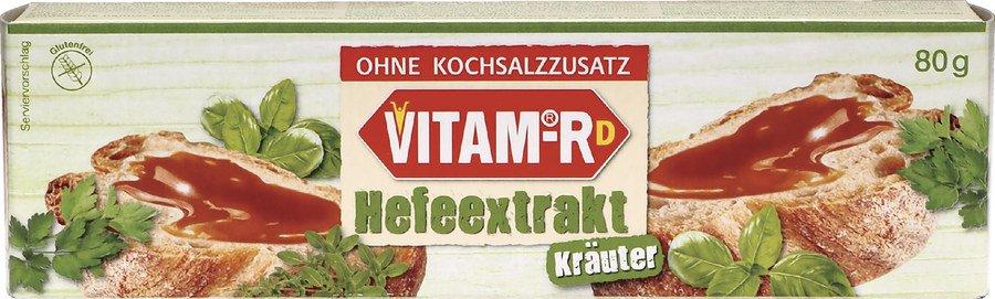 Vitam - Kräuter Vitam RD Hefeextrakt ohne Salz 80g