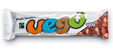 VEGO - Whole Hazelnut Chocolate Bar bio 150g