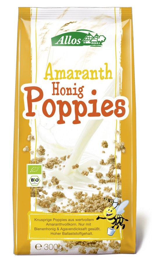 Allos - Amaranth Honig-Poppies bio 300g