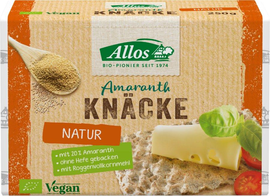 Allos - Amaranth-Knäcke bio 250g