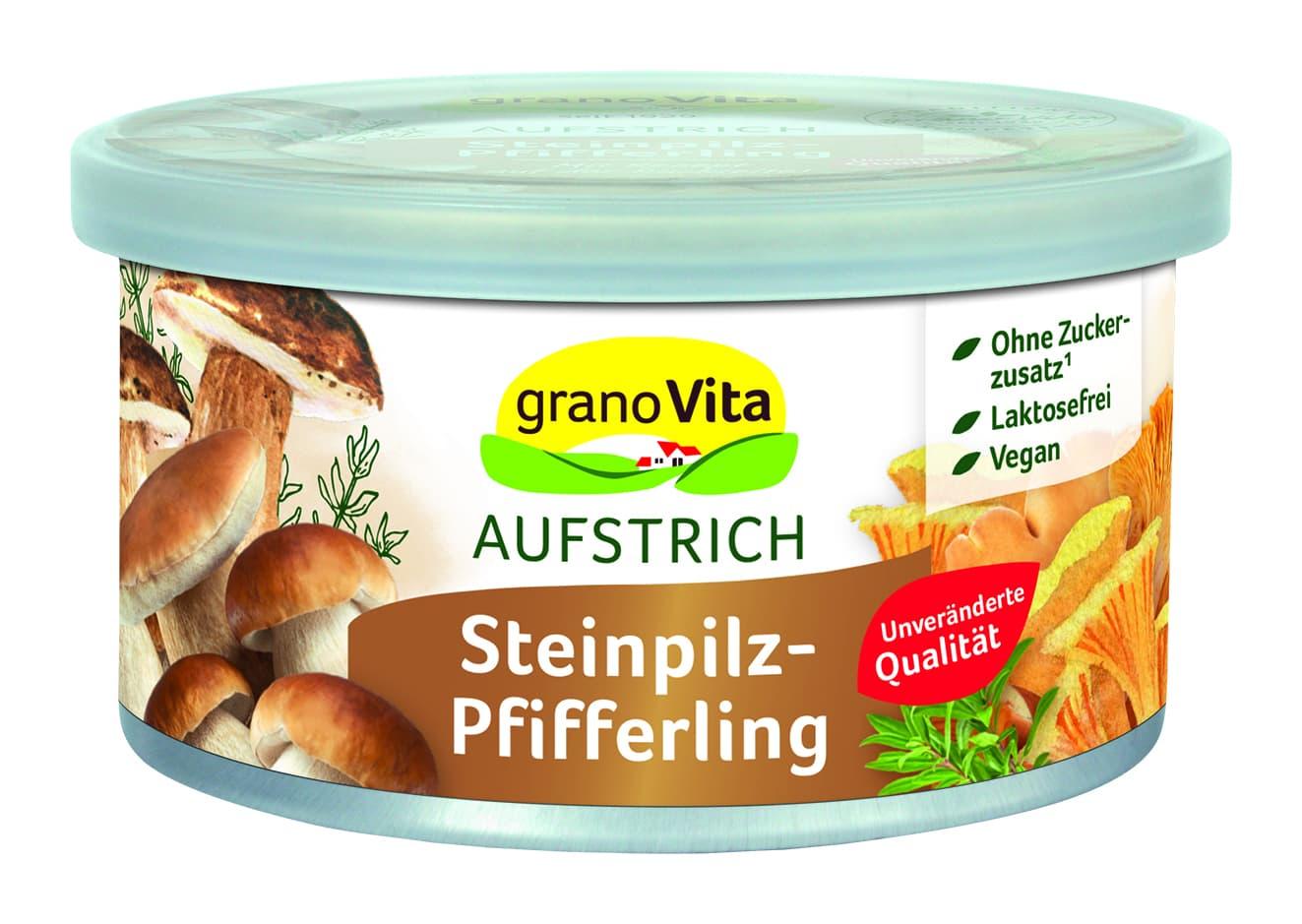 GranoVita - Steinpilz-Pfifferling 125g