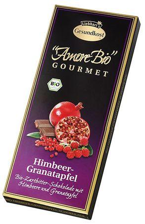 Liebharts - Amore Bio Himbeer Granatapfel 100g