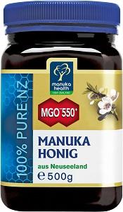 Manuka Health - Manuka Honig MGO550+ 500g