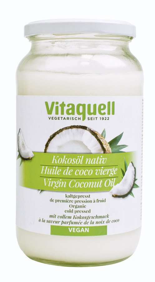 Fauser-Vitaquell - Kokosöl bio 800g