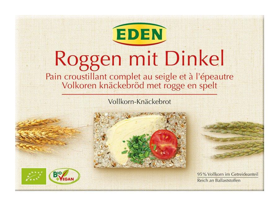 EDEN - Roggen-Vollkorn Dinkel-Knäcke bio 250g