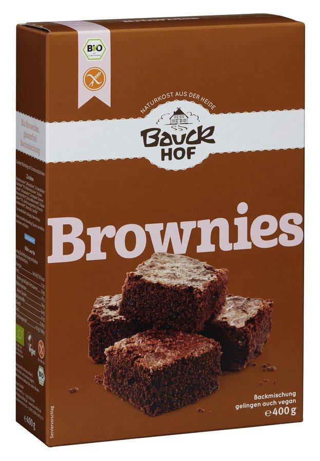 Bauck - Brownies glutenfrei bio 400g