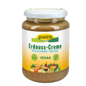 GranoVita - Erdnuss Creme 350g