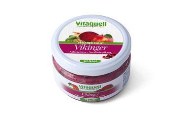 Fauser-Vitaquell - Vikinger Salatgenuss - Nordisch-pikant180g Veganer Salat