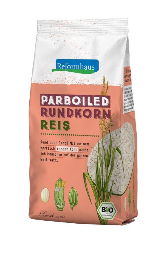 Reformhaus - Parboiled Rundkornreis (Avorio) bio 500g