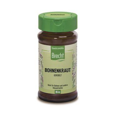 Brecht - Bohnenkraut gerebelt Bio im Glas 15g
