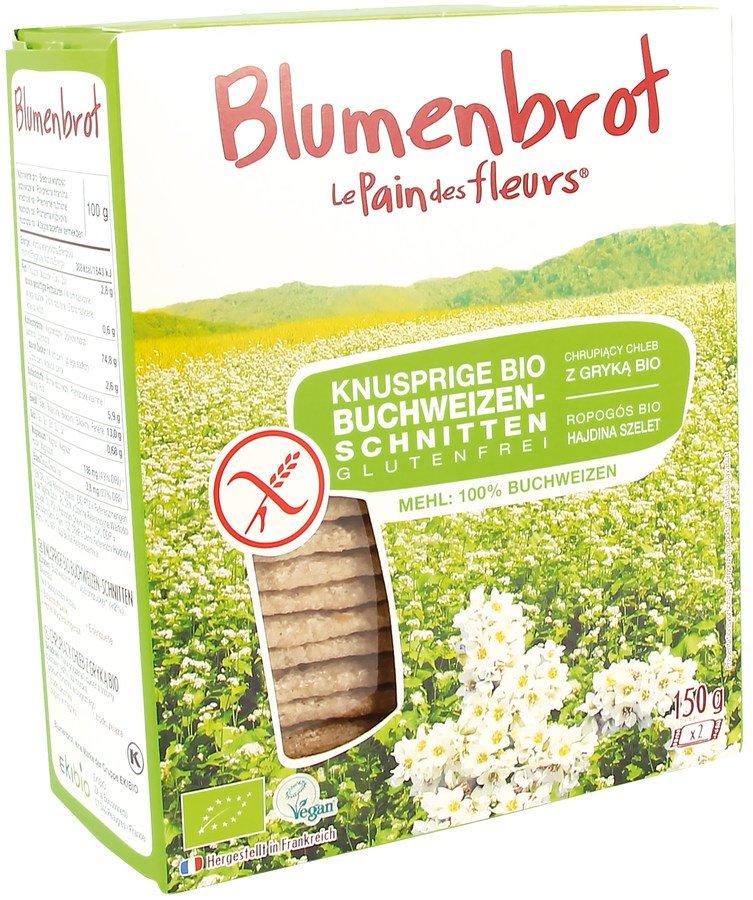 Blumenbrot - Buchweizen-Schnitten bio 150g