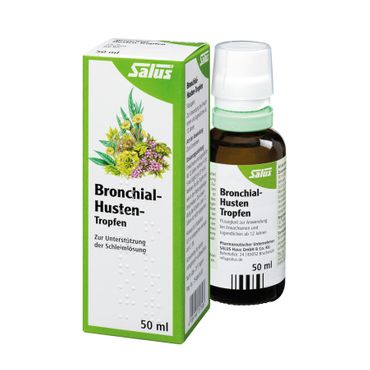 Salus - Bronchial-Husten-Tropfen bio 50ml