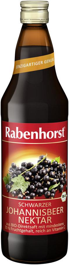 Rabenhorst - Schwarze Johannisbeere Nektar bio 700ml