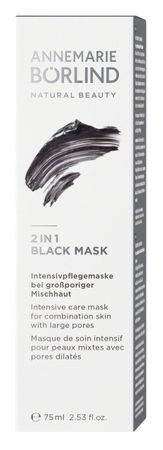 ANNEMARIE BÖRLIND - 2 IN 1 BLACK MASK 75ml