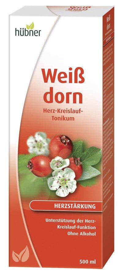 Hübner - Weißdorn Herz-Kreislauf-Tonikum 500ml