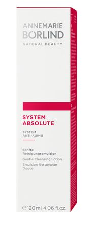 ANNEMARIE BÖRLIND - SYSTEM ABSOLUTE Sanfte Reinigungsemulsion 120ml