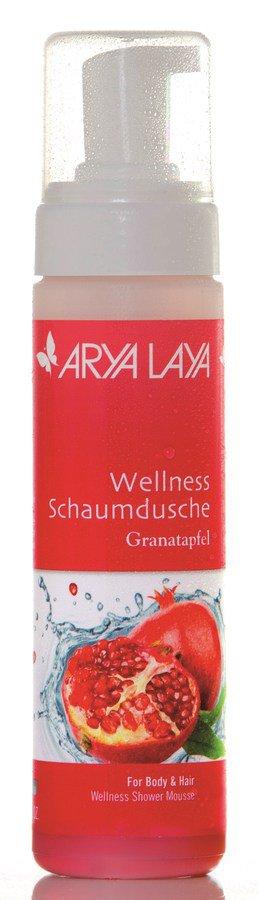 ARYA LAYA - Wellness Schaumdusche Granatapfel 200ml