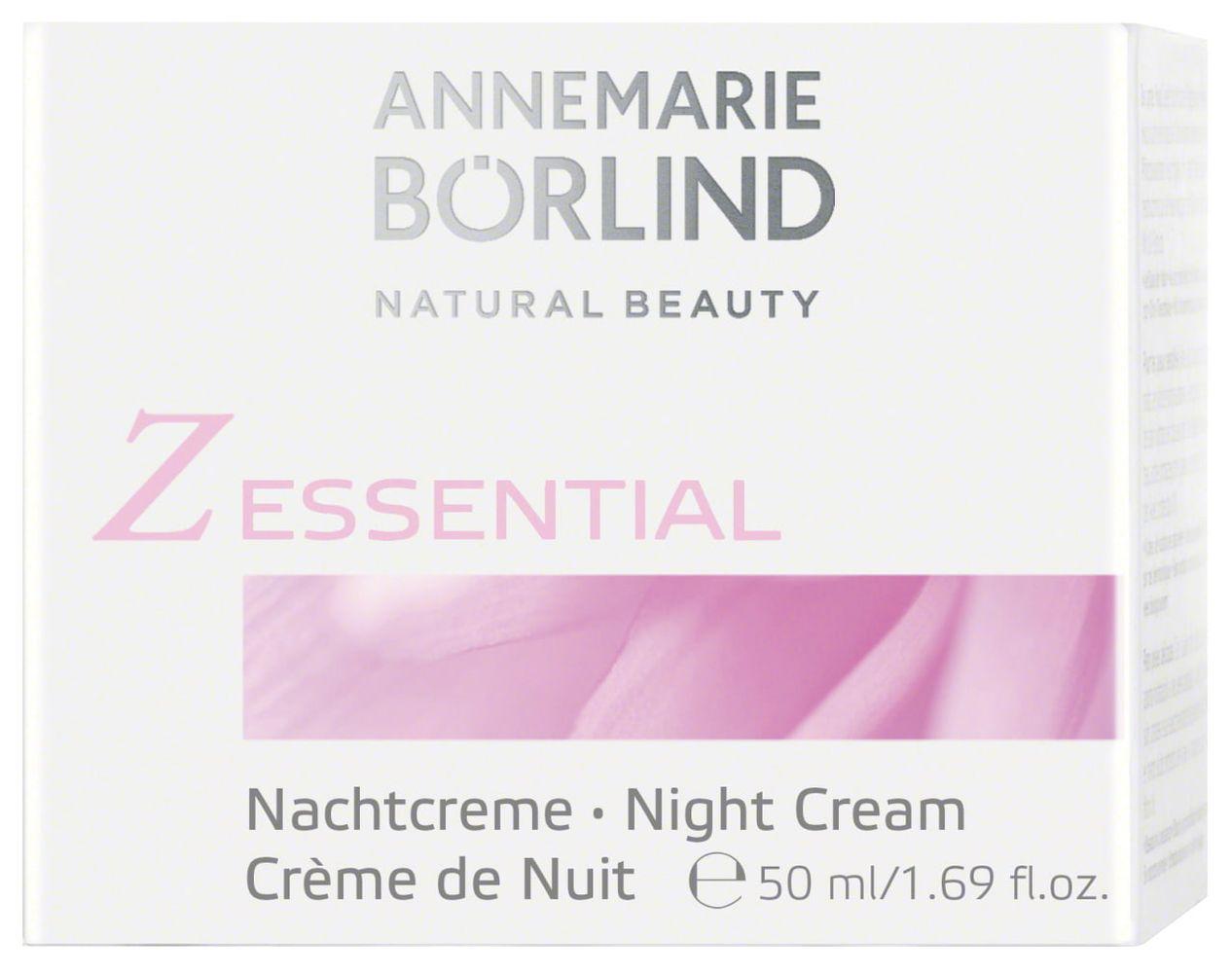 ANNEMARIE BÖRLIND - Z Essential Nachtcreme 50ml