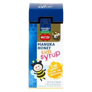 Neuseelandhaus Manuka-Honig Sirup für Kinder, MGO 250, 100ml