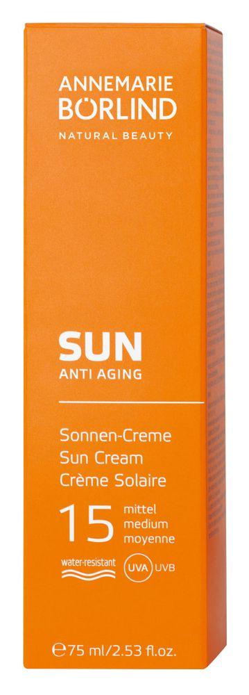 ANNEMARIE BÖRLIND - SUN Sonnen-Creme LSF 15 75ml