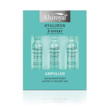 Alsiroyal - Hyaluron 5-Effekt Ampullen