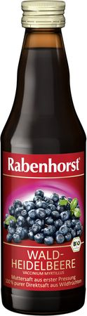 Rabenhorst - Heidelbeer Muttersaft bio 330ml