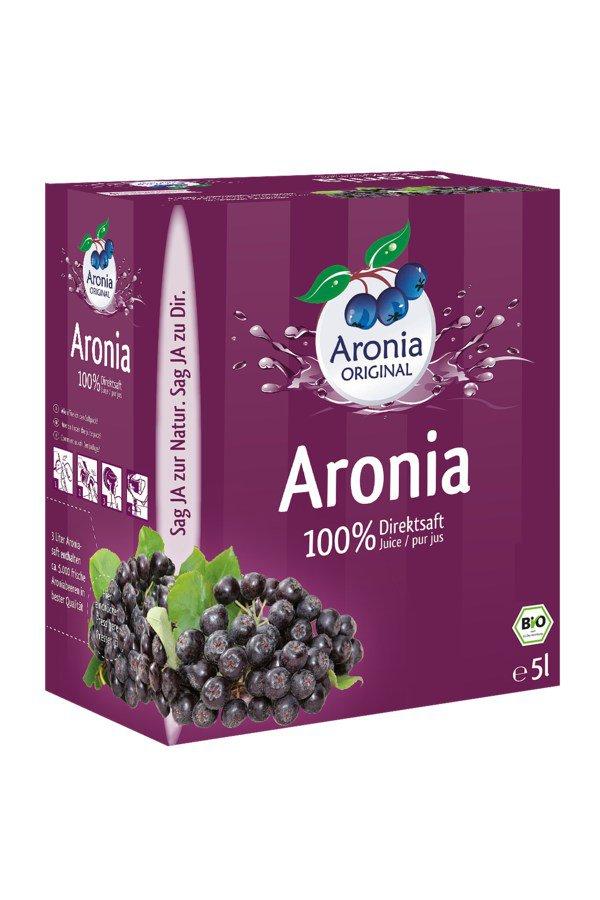 Aronia ORIGINAL - Aronia Direktsaft Bio FHM, 5L