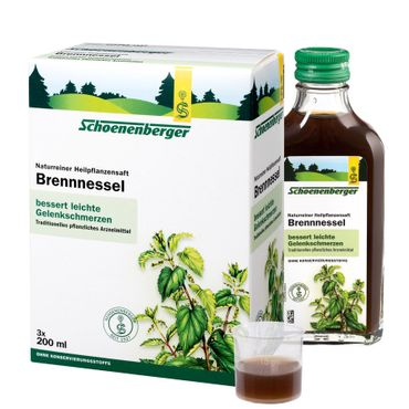 Schoenenberger - Brennnesselsaft bio 3x200ml