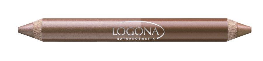 Logona - Double Lip Pencil no. 04, beige