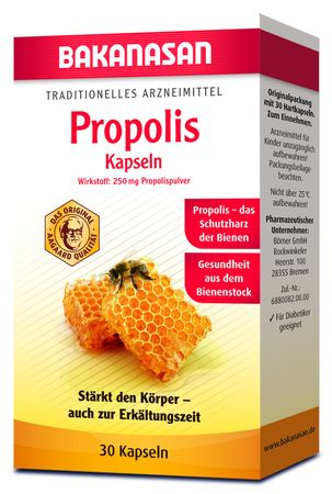 Bakanasan - Propolis Kapseln 30Stk