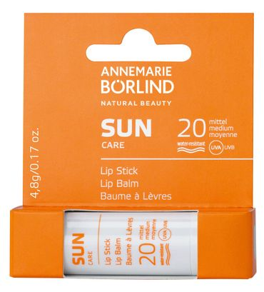 ANNEMARIE BÖRLIND - SUN Lip Stick LSF 20 4,8g – Bild 1