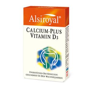 Alsiroyal - Calcium plus Vitamin D3 30Stk
