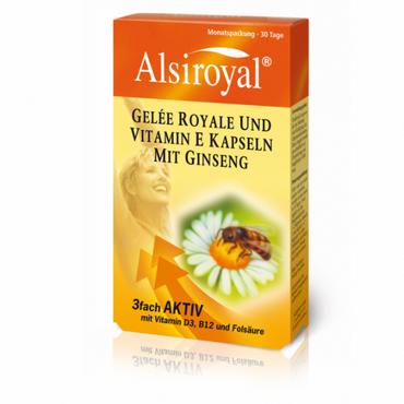 Alsiroyal - Gelee Royal Kapseln 60 Stk