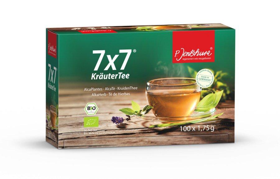 Jentschura 7x7 KräuterTee bio 100Stk