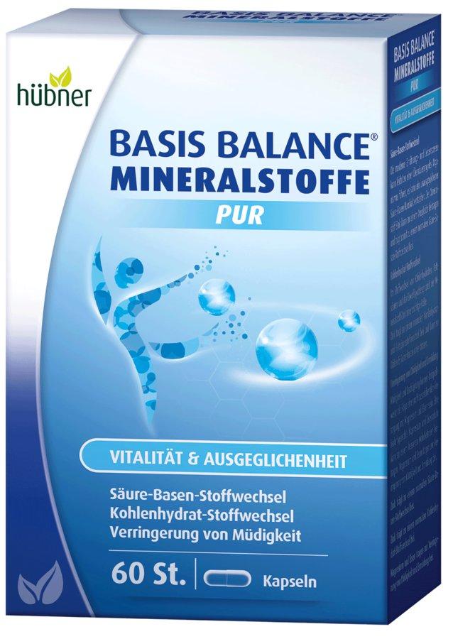 Hübner - Basis Balance Mineralstoffe Pur 60 Kapseln